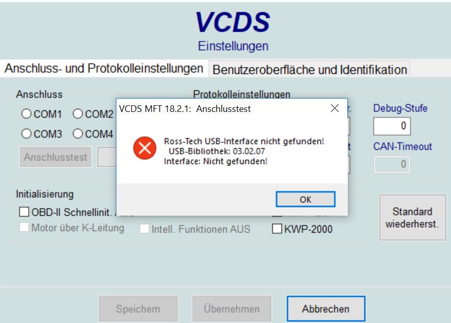 usb interface nicht gefunden vcds software hardware das deutsche vcds forum. Black Bedroom Furniture Sets. Home Design Ideas