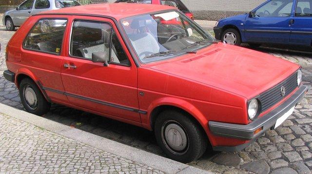 VW Golf 2 (1G)